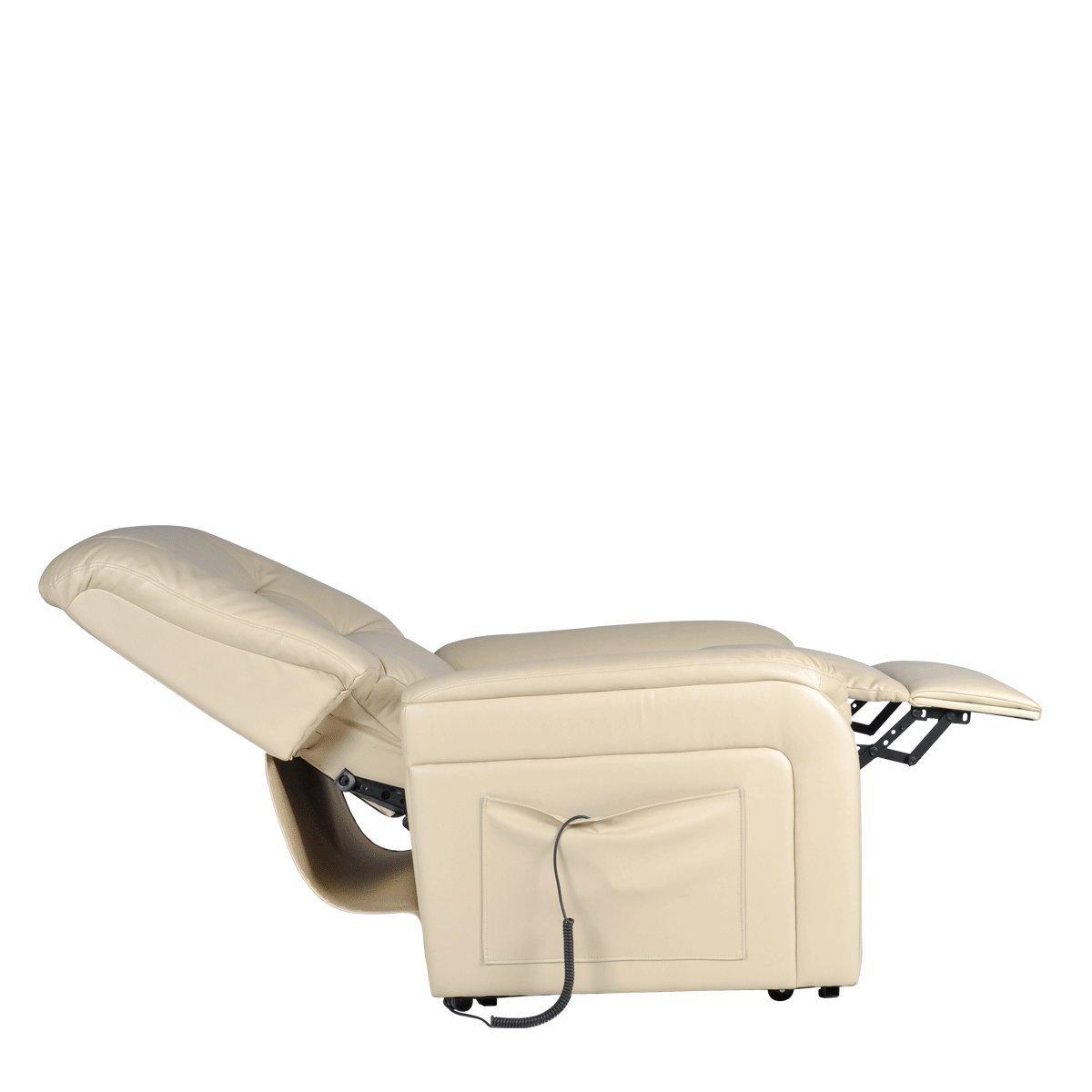 Relaxsessel Elektrisch Verstellbar ~ Fernsehsessel elektrisch verstellbar Relaxsessel Aufstehsessel Weiß